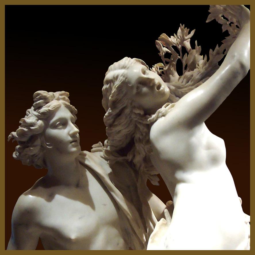 798 6 Apolo y Dafne-Barnini 1622- Gal Borghese Roma